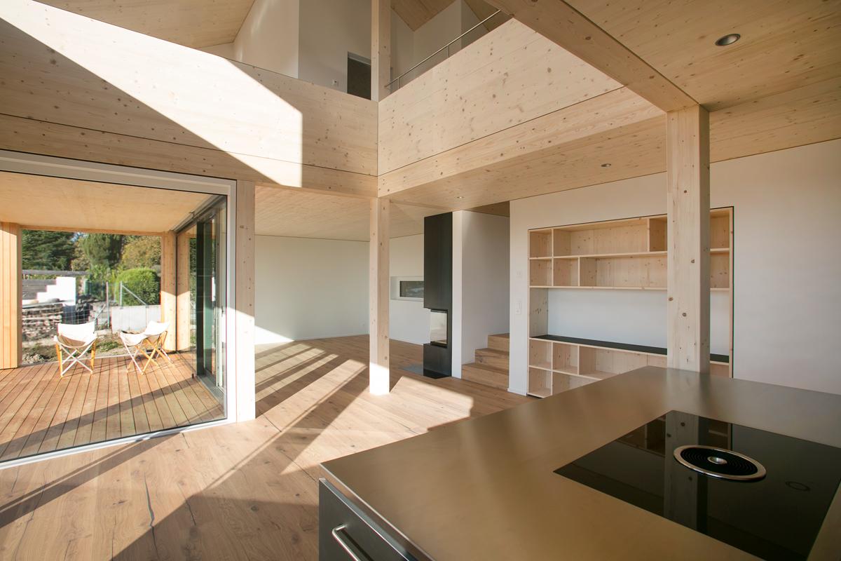 Neubau Plusenergie-Wohnhaus in Meikrich - AESCHLIMANN ARCHITEKTEN